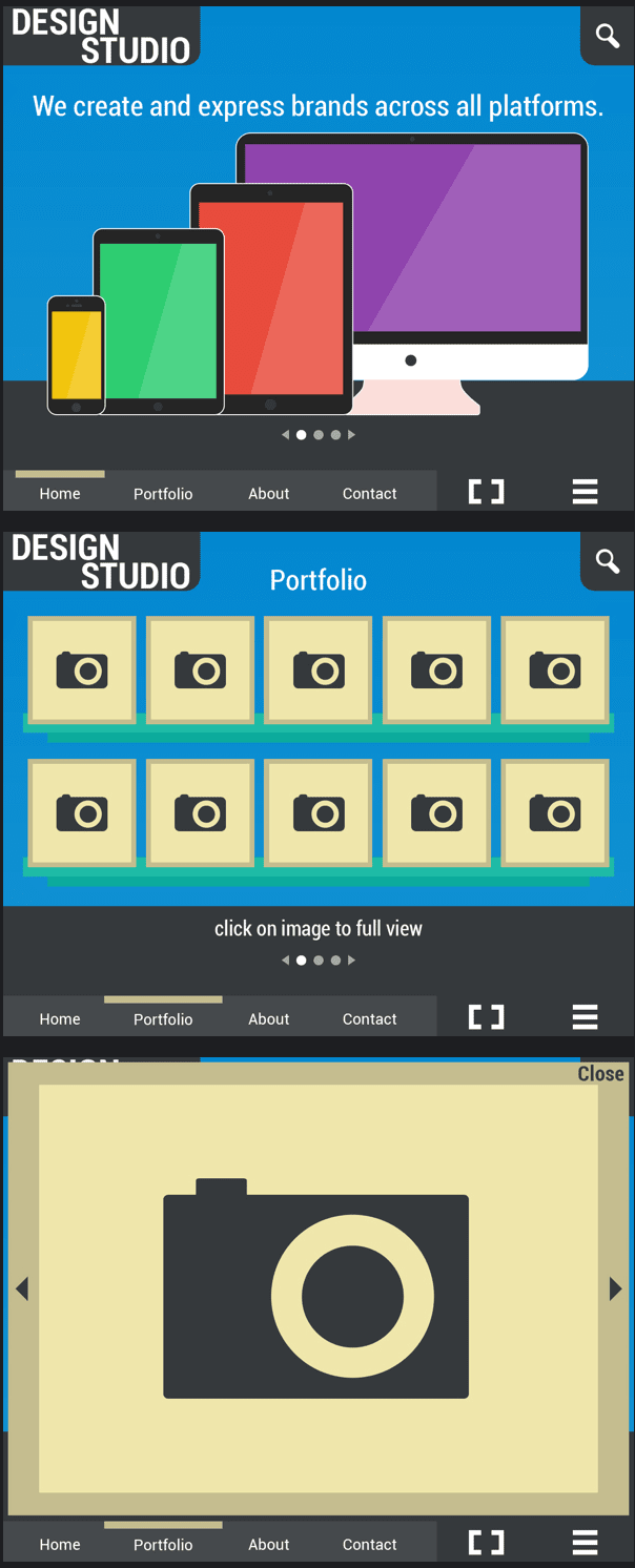 Design Studio - Free Web Template