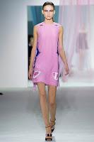 официална къса розова рокля