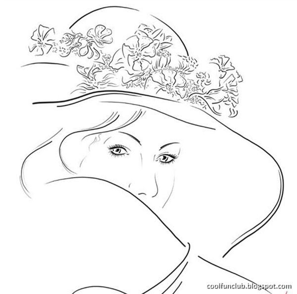 Line Art Woman : Fundov line art on women