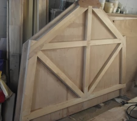 Large Ply on Frame