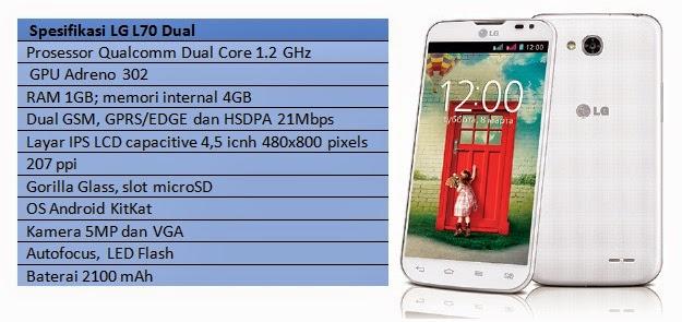 Spesifikasi LG L70