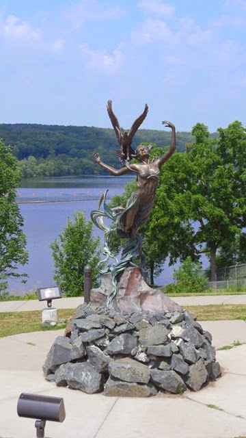 Andover connection travel in minnesota taylors falls 2 franconia sculpture park for Sculpture garden taylors falls