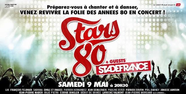 Stars 80 : gagnez vos places pour le Stade de France !