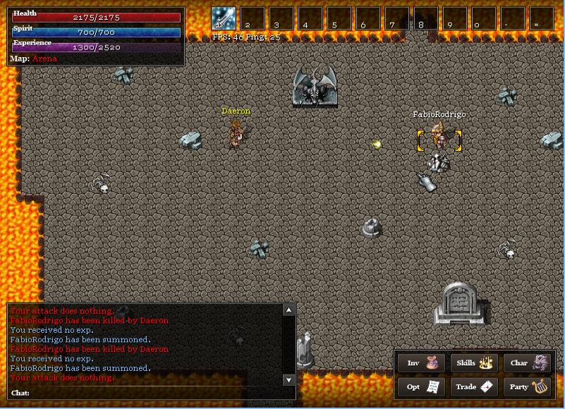 Recrutando - Forgotten Age Online Arena