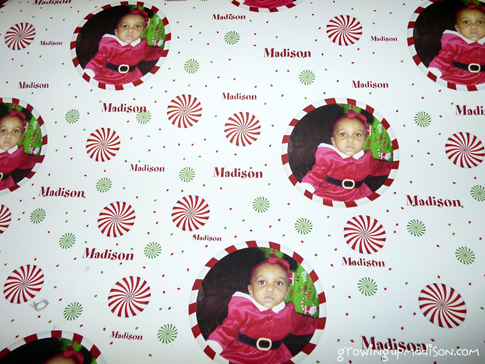 Giftskins Personalized Wrapping Paper #Review #Giveaway Growing