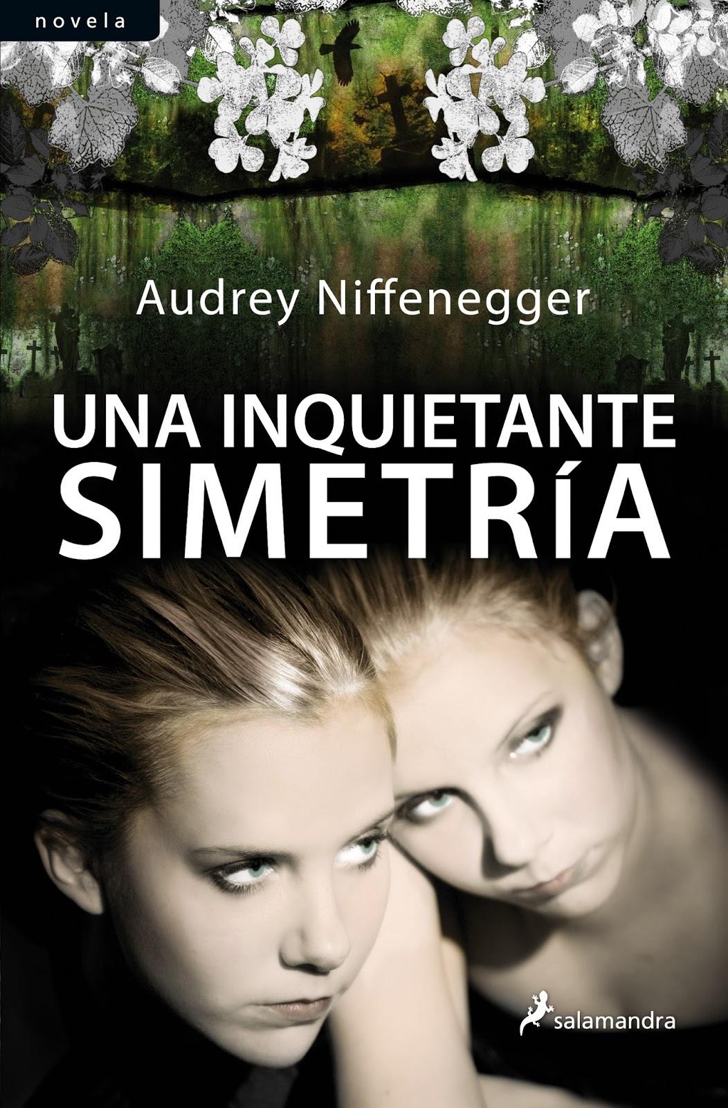 Una inquietante simetría - Audrey Niffenegger exlibris sol literatura