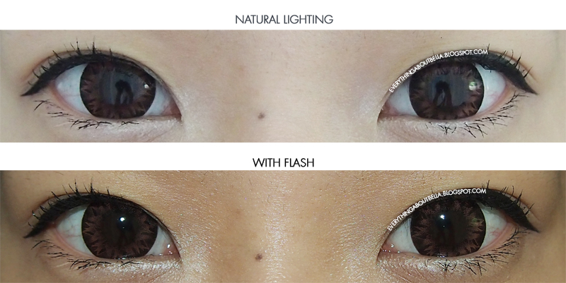 Circle Lens: EOS Lucifer Crystal Brown