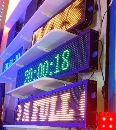 LETREROS ELECTRONICOS DE LEDS CON PASAMENSAJES