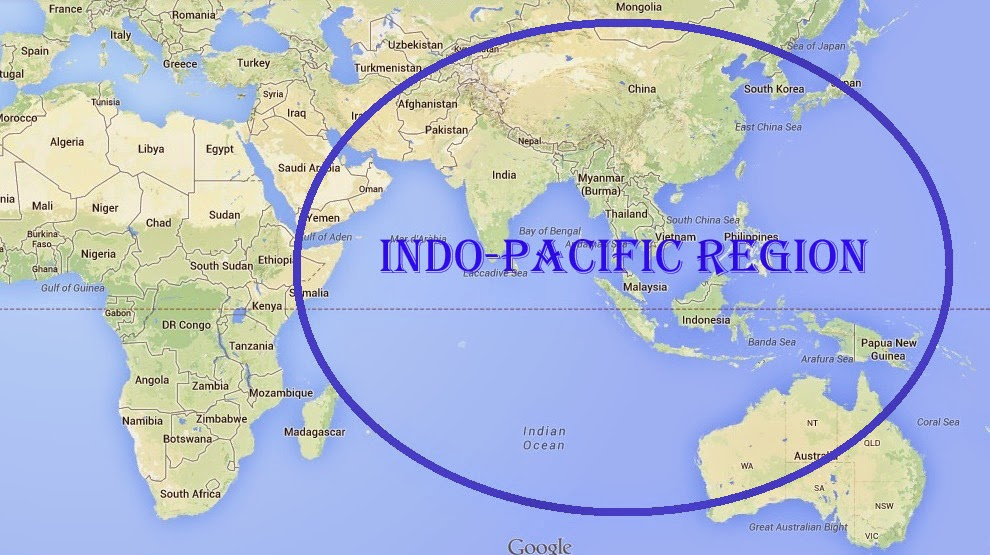 Image result for indo pacific region