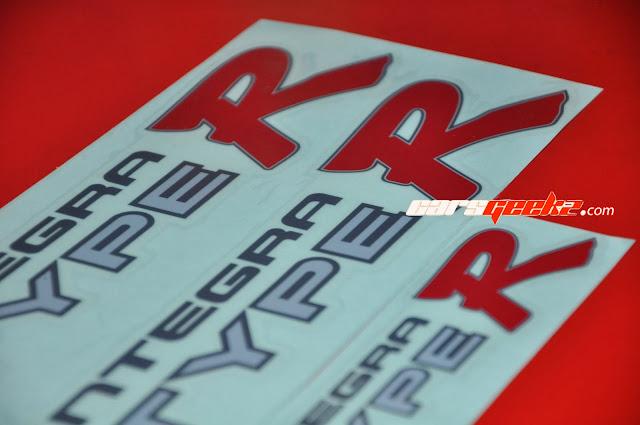 Type R Integra - DC2 vinyl