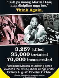 Never Forget The Victims of Martial Law!
