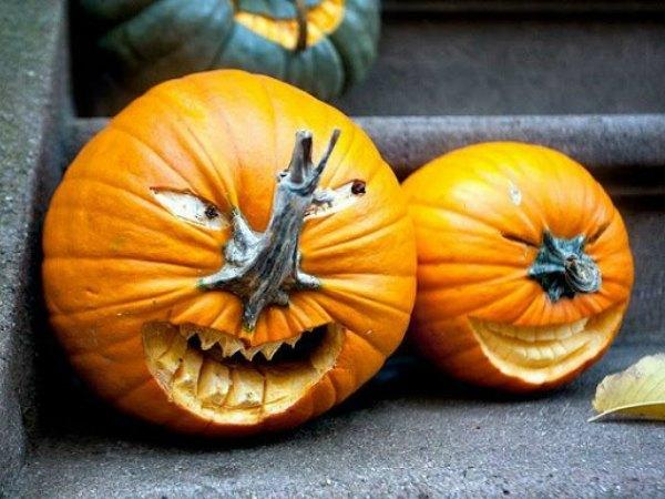 11 ideas para decorar calabazas de halloween trucos de bricolaje - Como hacer calabazas de halloween ...