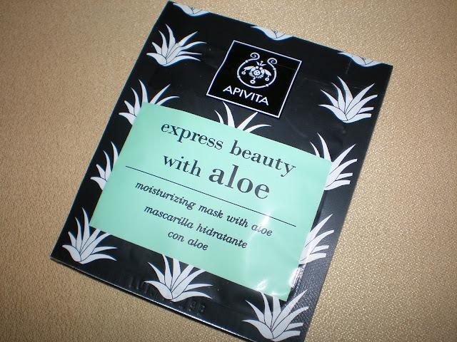 Apivita express beauty with Aloe