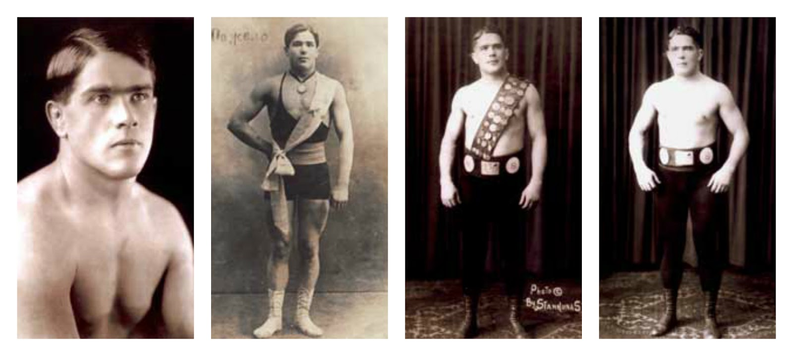 Maurice Tillet the French wrestler who was supposedly the