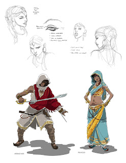 assassins creed brahman graphic novel artwork 1 Graphic Novels   Assassin's Creed: Brahman   A New Assassin Is Introduced