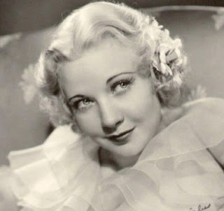 Vintage black and white photo of actress Una Merkel.