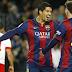 Barcelona vs Almeria 4-0 Highlights News 2015 Suarez Messi Bartra Goals
