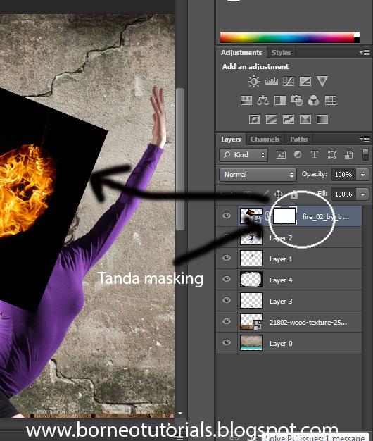 Tutorials Photoshop:Teknik Masking - Belajar Microsoft