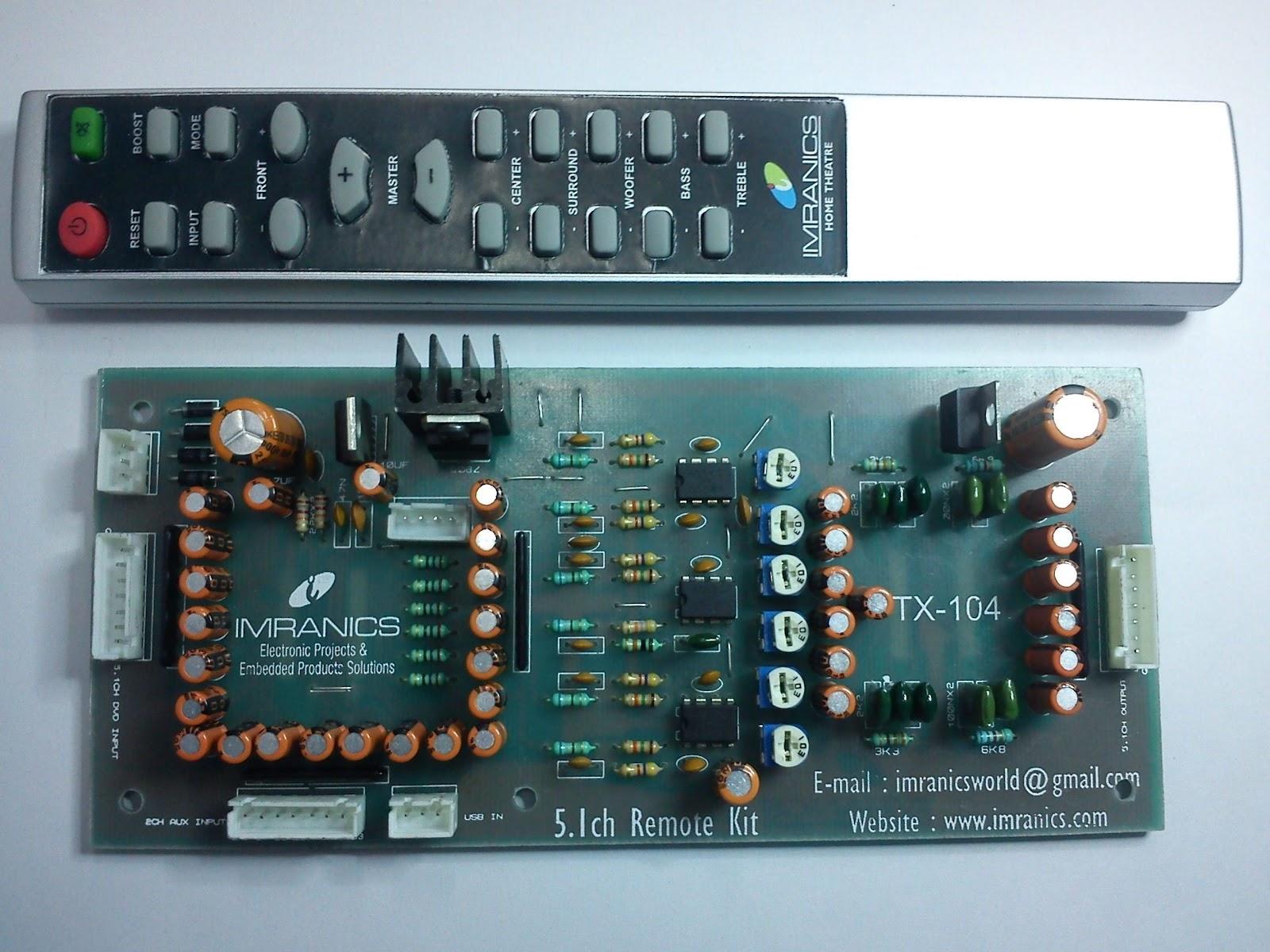 5.1 remote kit: 5.1 remote kit