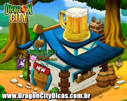 Taverna de Recrutas do Dragon City