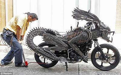 motocileta aliens