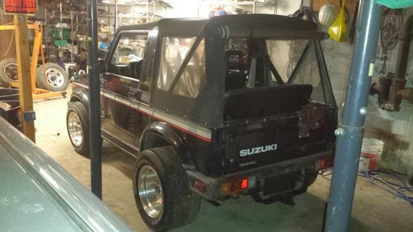 Daily Turismo: 5k: V6 Vortec: 1988 Suzuki Samurai
