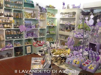 Negozio prodotti alla lavanda produzione e vendita for Oggettistica casa milano