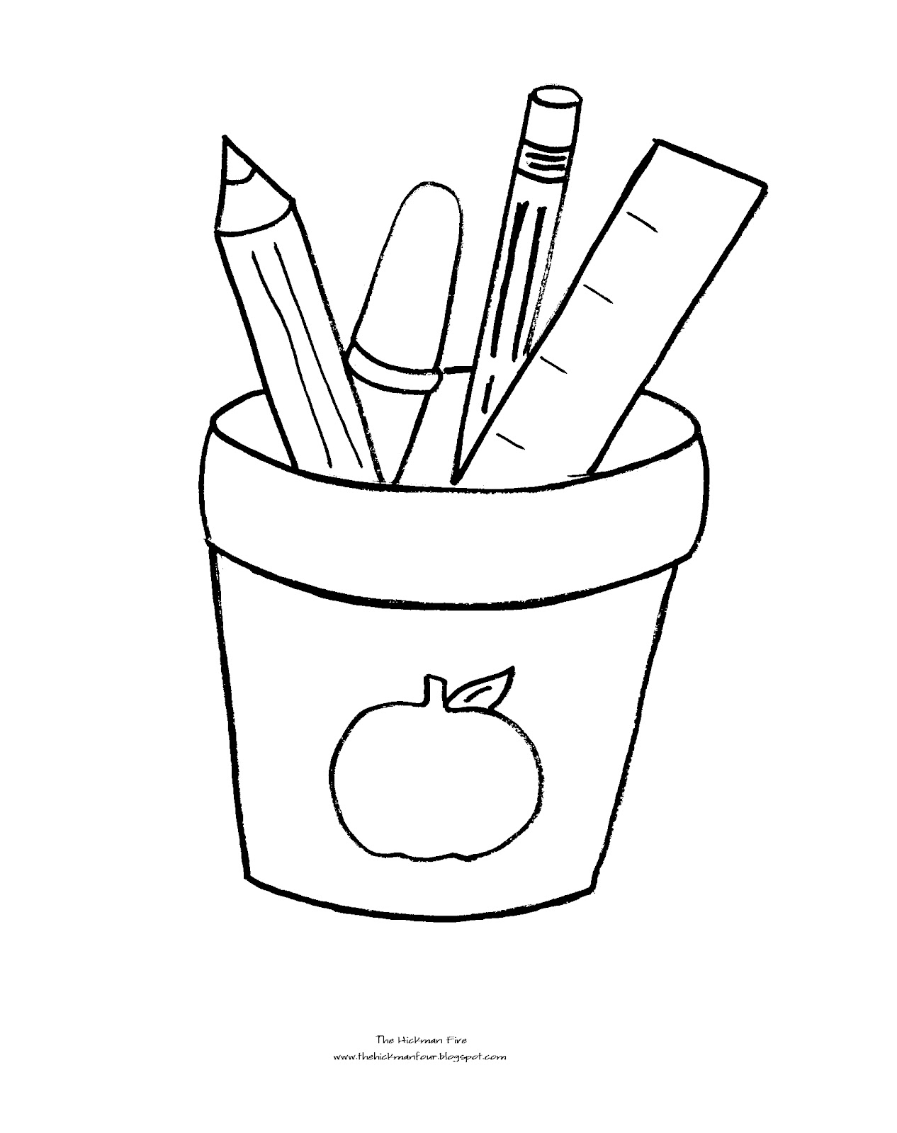 school images coloring pages - photo#25