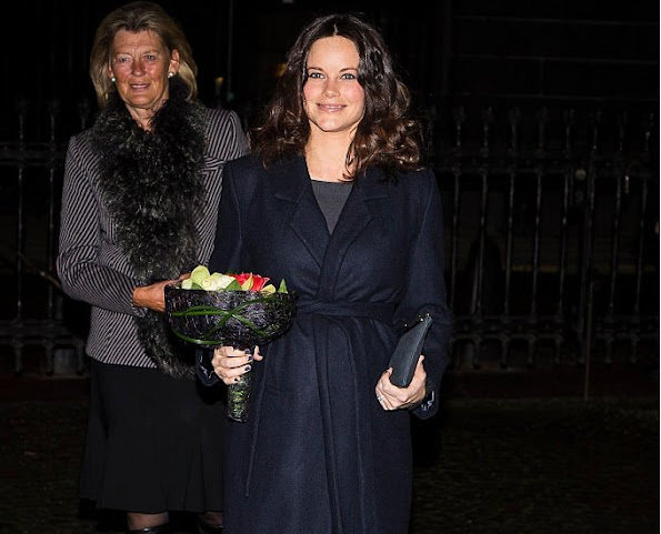 Princess Sofia Hellqvist of Sweden attended a commemoration ceremony at Stockholm Synagogue, which is organized in connection with Holocaust Memorial Day