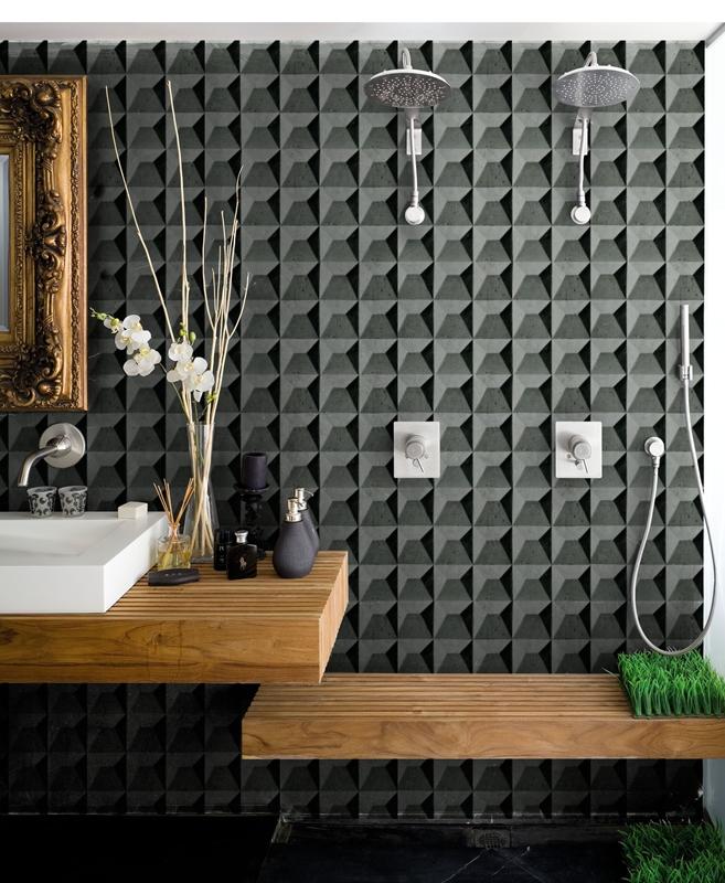 20170407&133215_Behang In De Badkamer ~   Badkamer  Behang C More Interieuradvies blog Interior and Design
