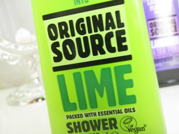 Original Source Lime Shower