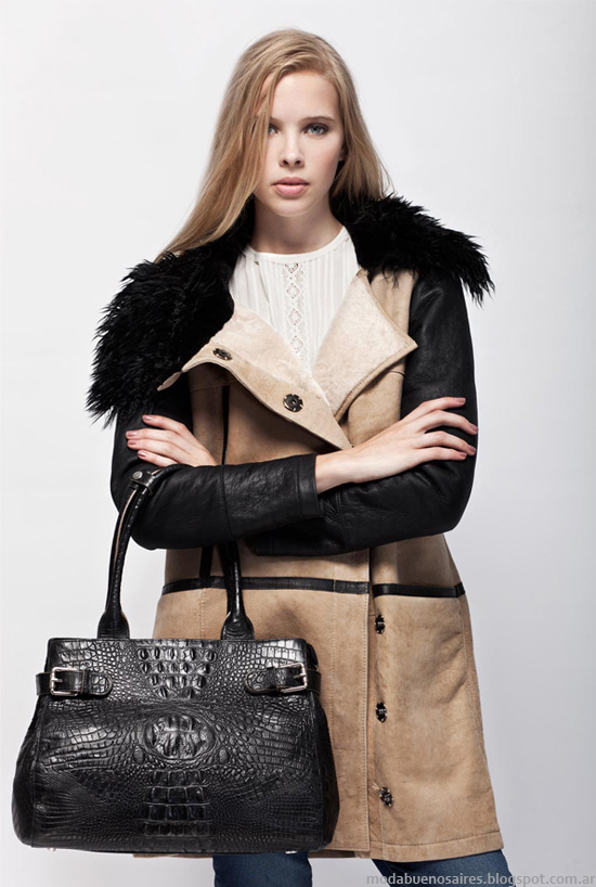 Tapados invierno 2013 moda mujer Prune