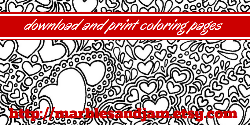 Adult coloring pages ~ download and print on Etsy