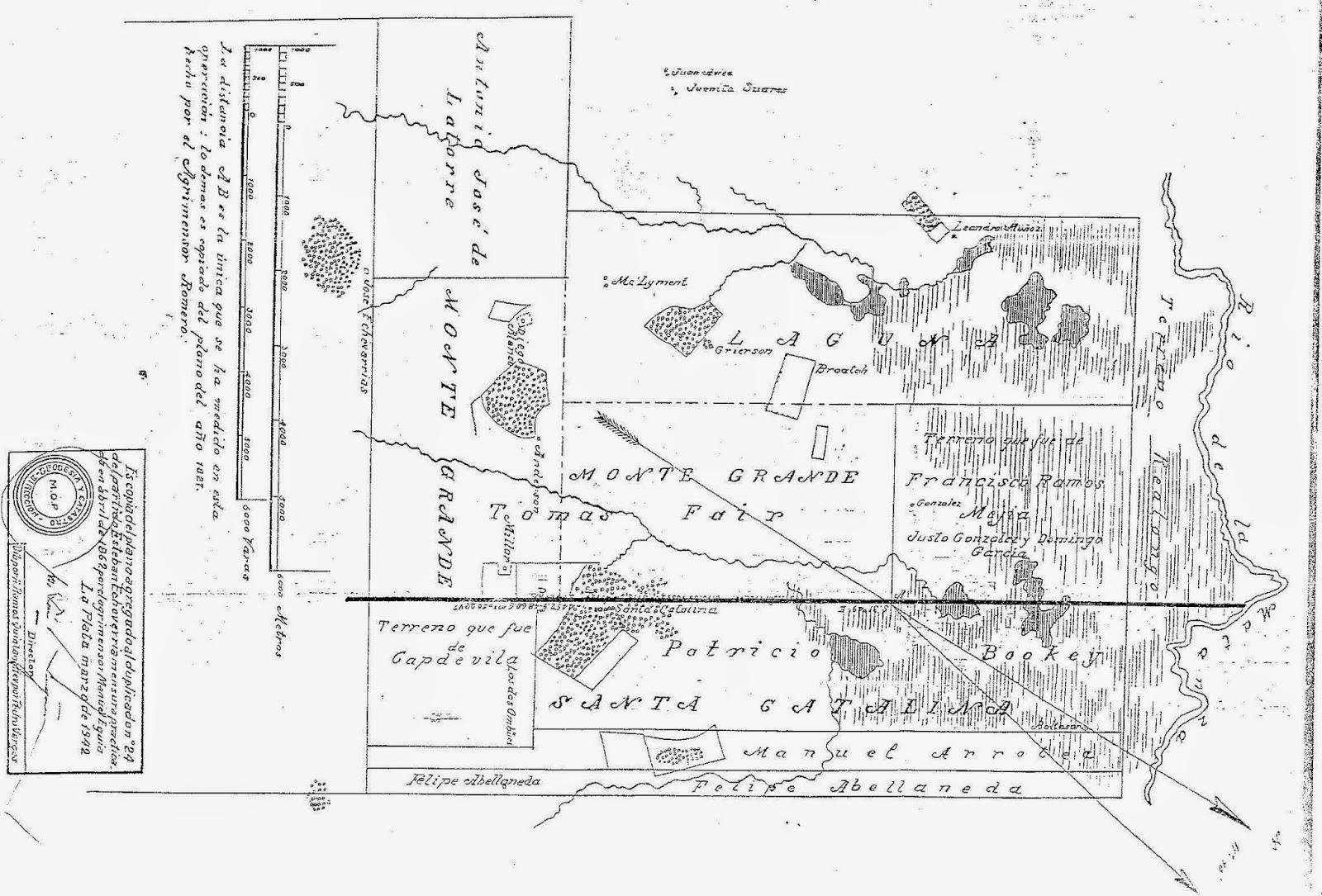 Mapa de la Época Colonial