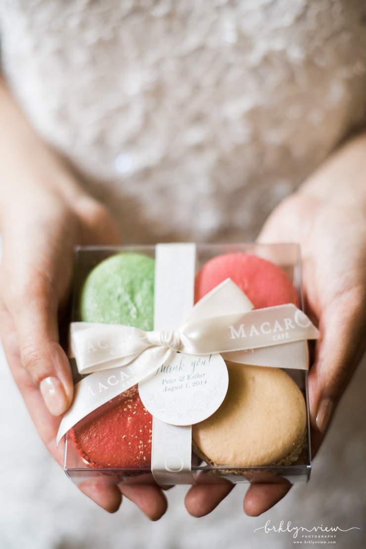 Macaron Favors for your wedding guests!