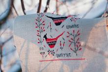 Русский примитив в вышивке