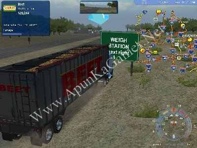 hard truck 18 wheels of steel game free download for pc