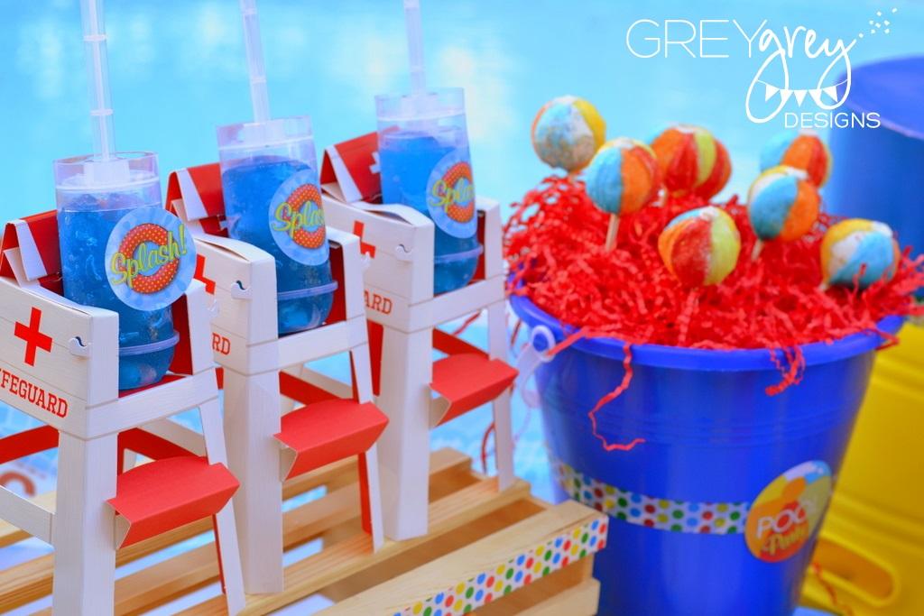 GreyGrey Designs My Parties Summer Pool Party By
