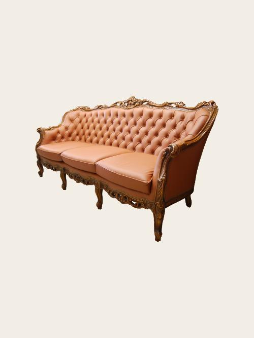 simon j gou artisan tapissier nantes canap louis xv trois places capitonn. Black Bedroom Furniture Sets. Home Design Ideas