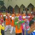 Senam Bersama Guru BIM, Citra dan  Islamic Village