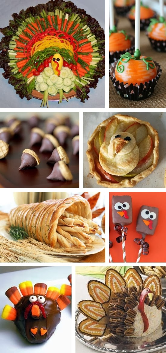 Thanksgiving Food Inspiration Board