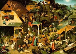 Pieter Bruegels | Netherlandish Proverbs | The Topsy-Turvy World