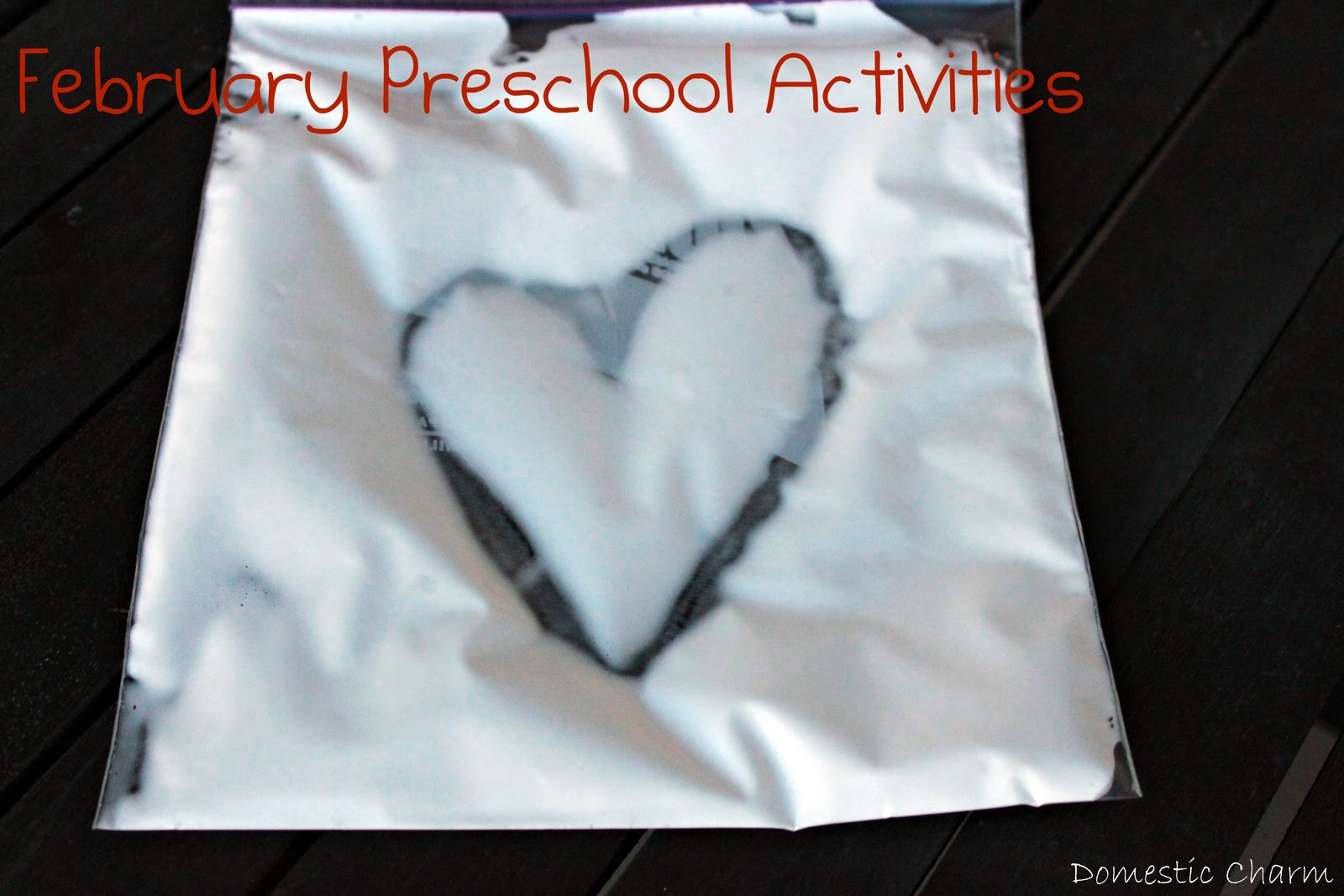 Domestic charm february preschool activities for Preschool crafts for february