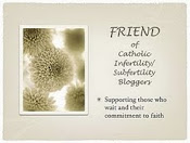 Friend of Catholic Infertility/Subfertility Bloggers