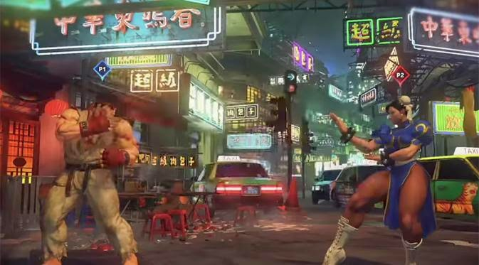 Video Gameplay Street Fighter V