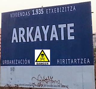 Peligro en Arkaiate