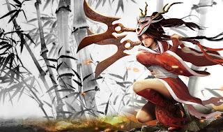 Chinese Bloodmoon Akali