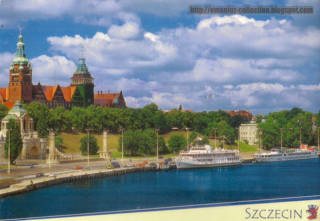 Postcard | Poland | City of Szczecin