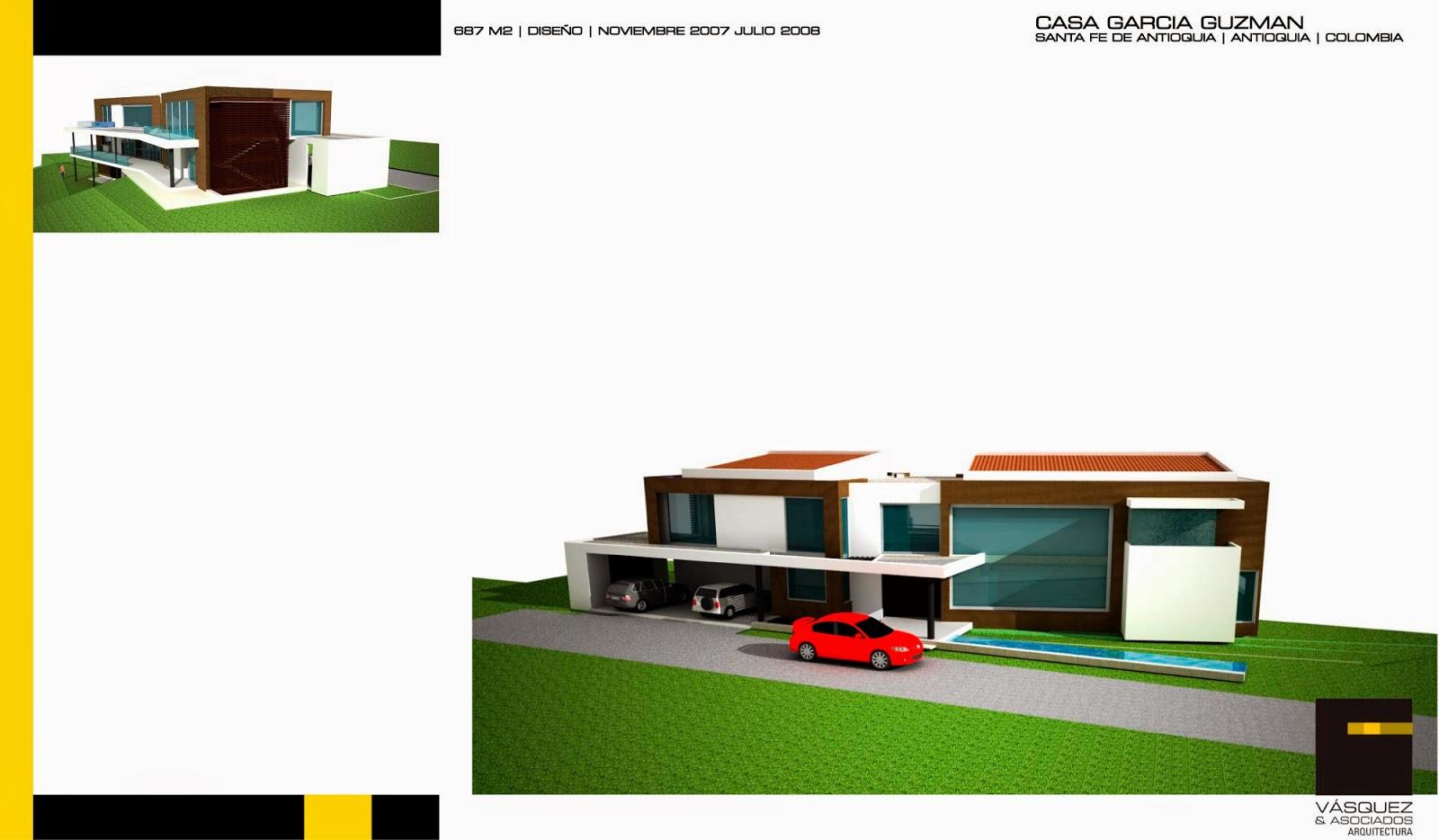 Vasquez y asociados arquitectura ltda casa ggz for Genesis arquitectura y diseno ltda
