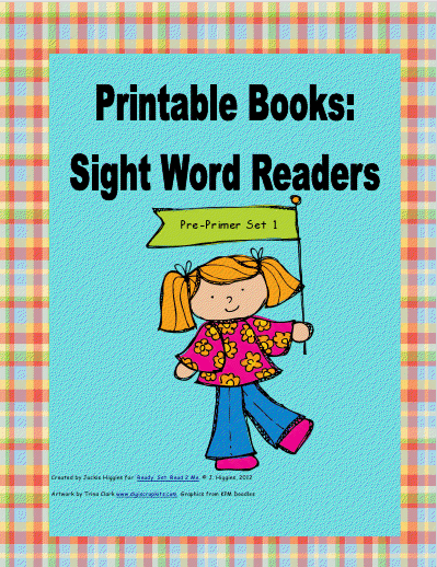 little books word using 6 books words pre-primer these books printable  sight contain from printable